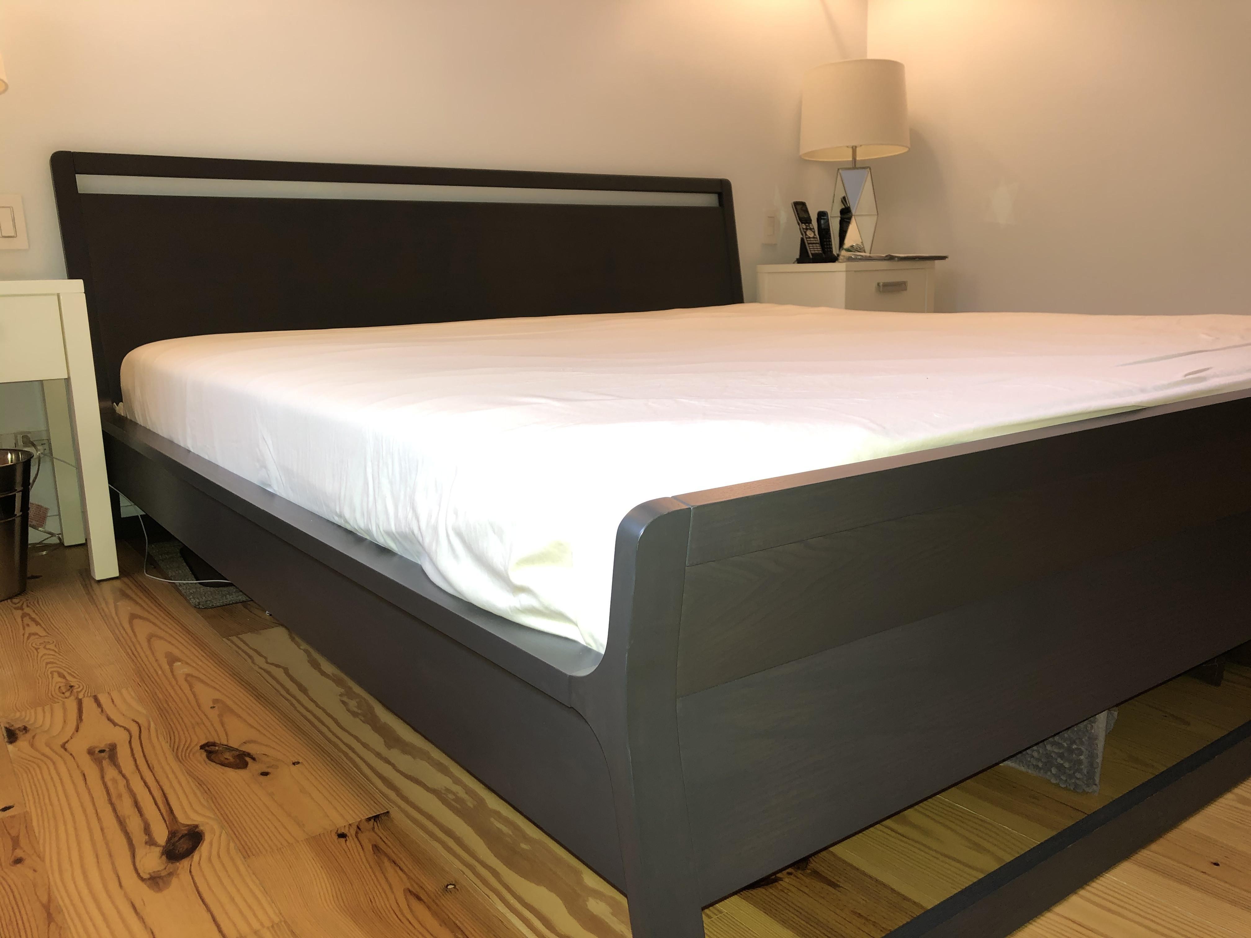 Blu Dot King Size Bed Frame