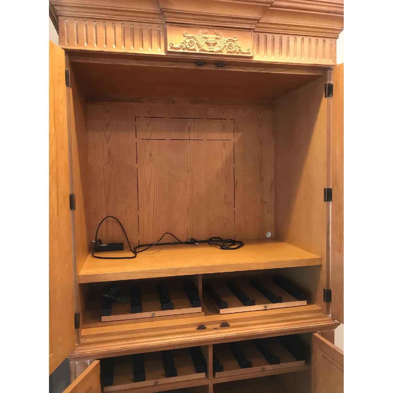 Henredon Wood Armoire - image-2