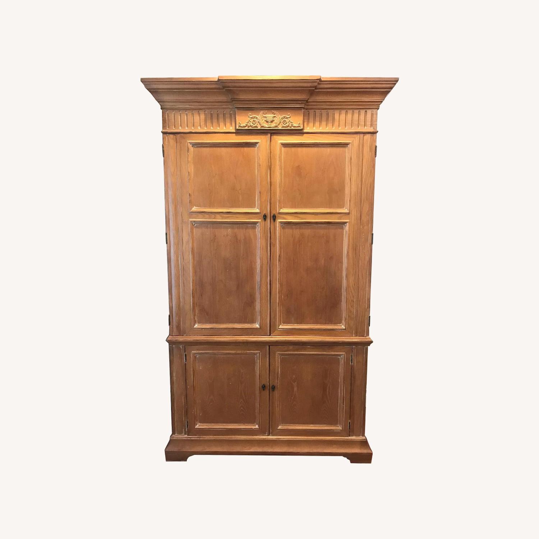 Henredon Wood Armoire - image-0