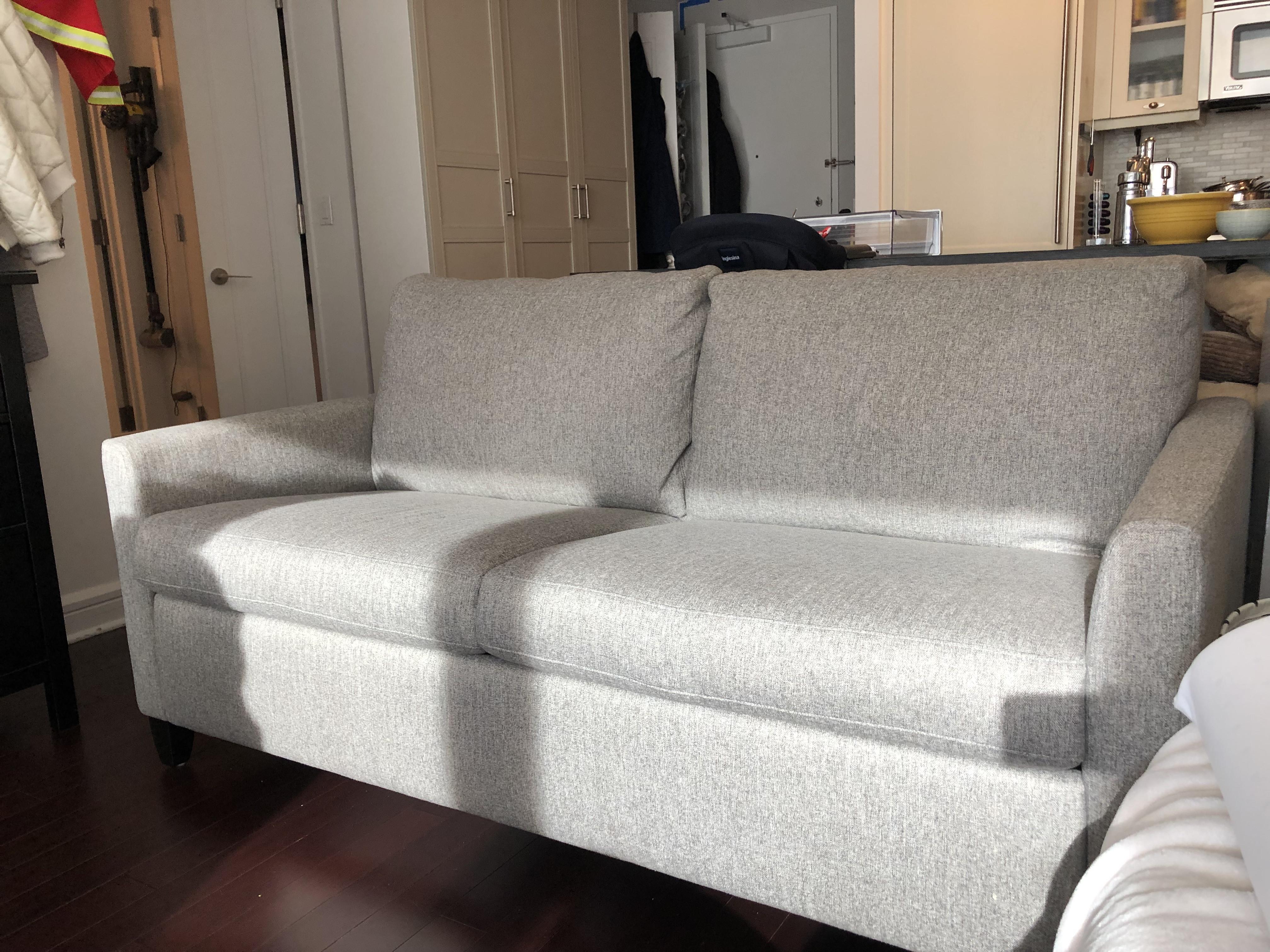 American Leather Harris Comfort Queen Sleeper Sofa Aptdeco