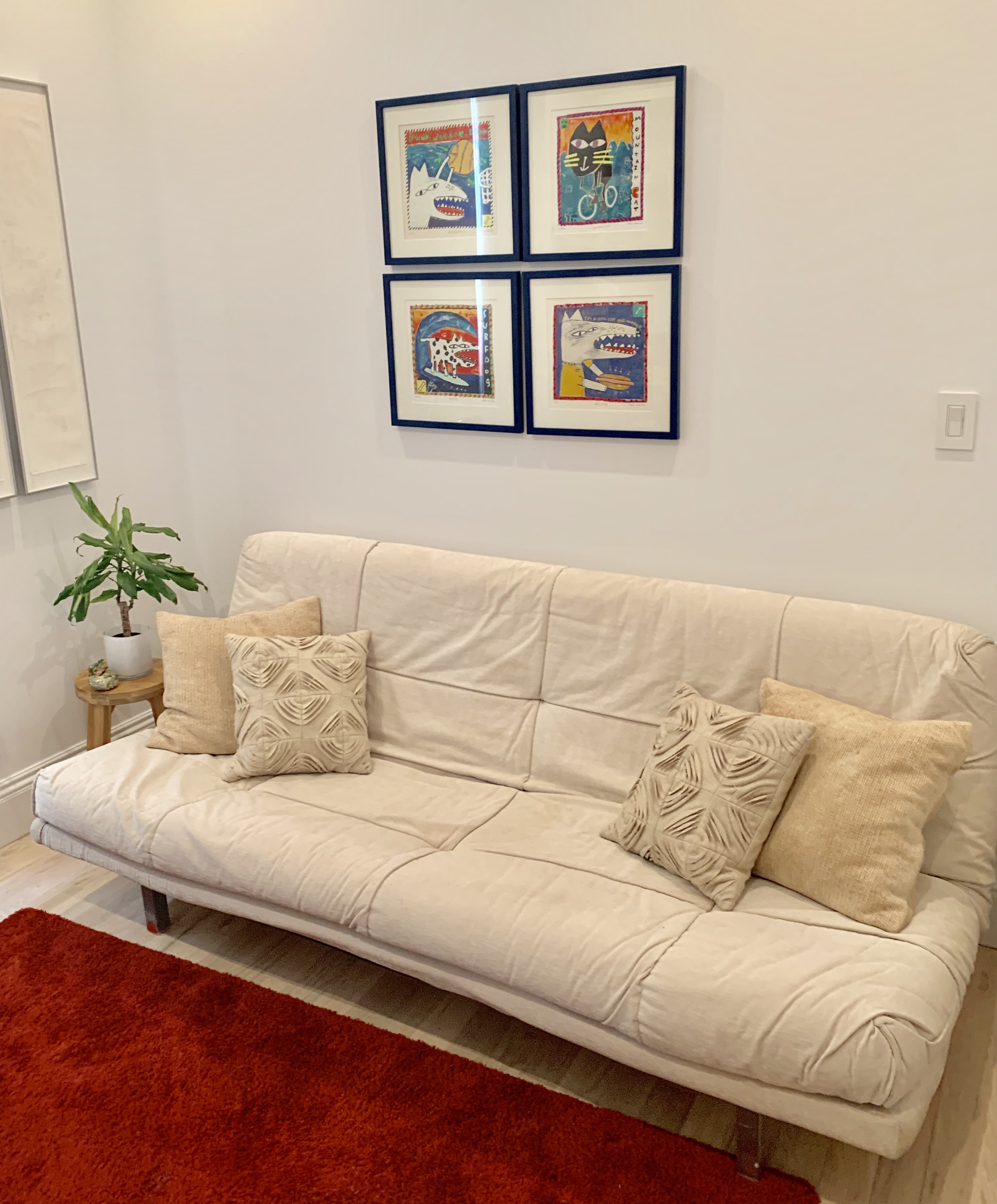 Ligne Roset 3 Way Sleeper Sofa