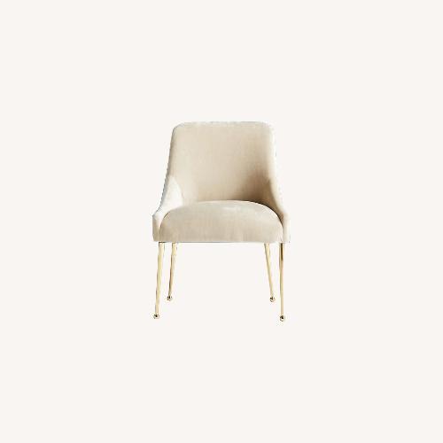 Used Anthropologie Sub Velvet Elowen Chair for sale on AptDeco