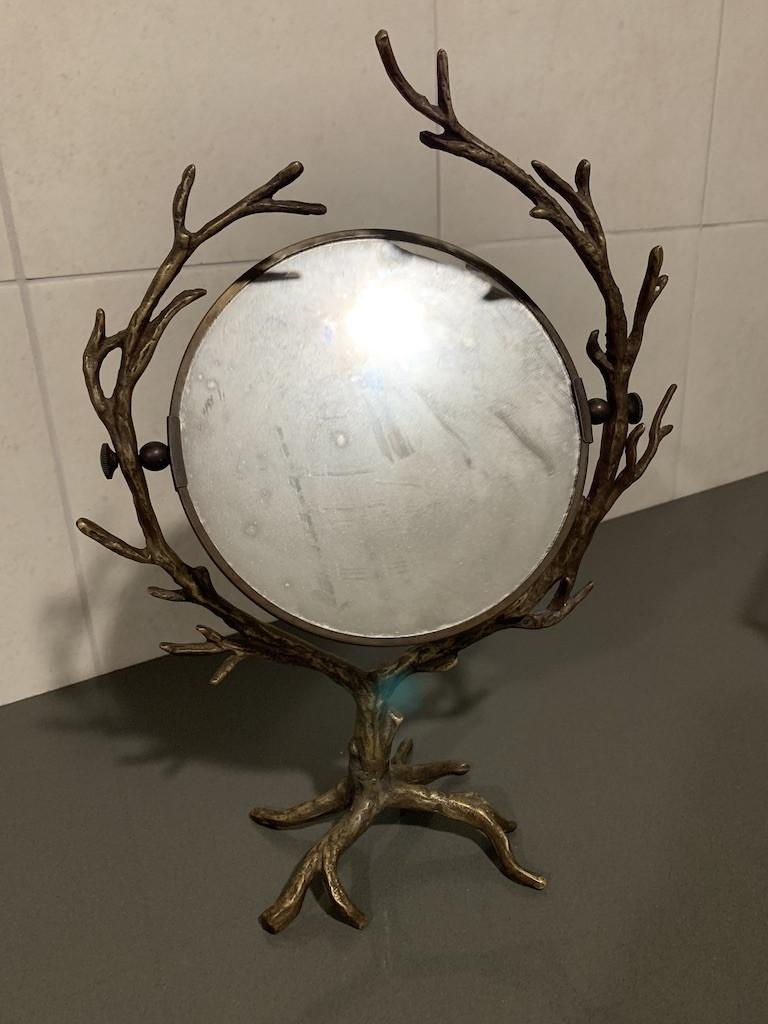 Anthropologie Gold Vanity Mirror