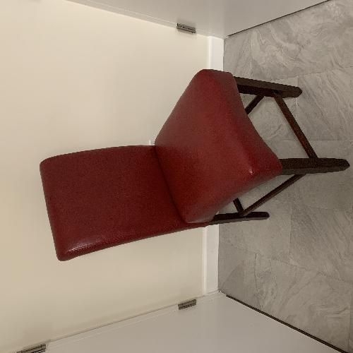 Rooms To Go Tuscany Red Leather Bar Stools