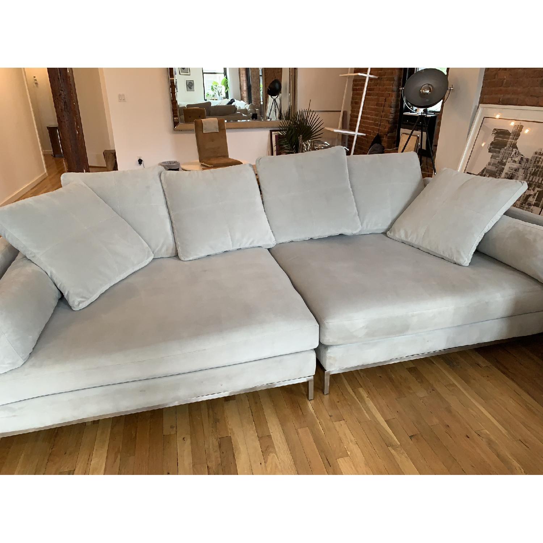 Z Gallerie Ventura Extra Deep Sofa