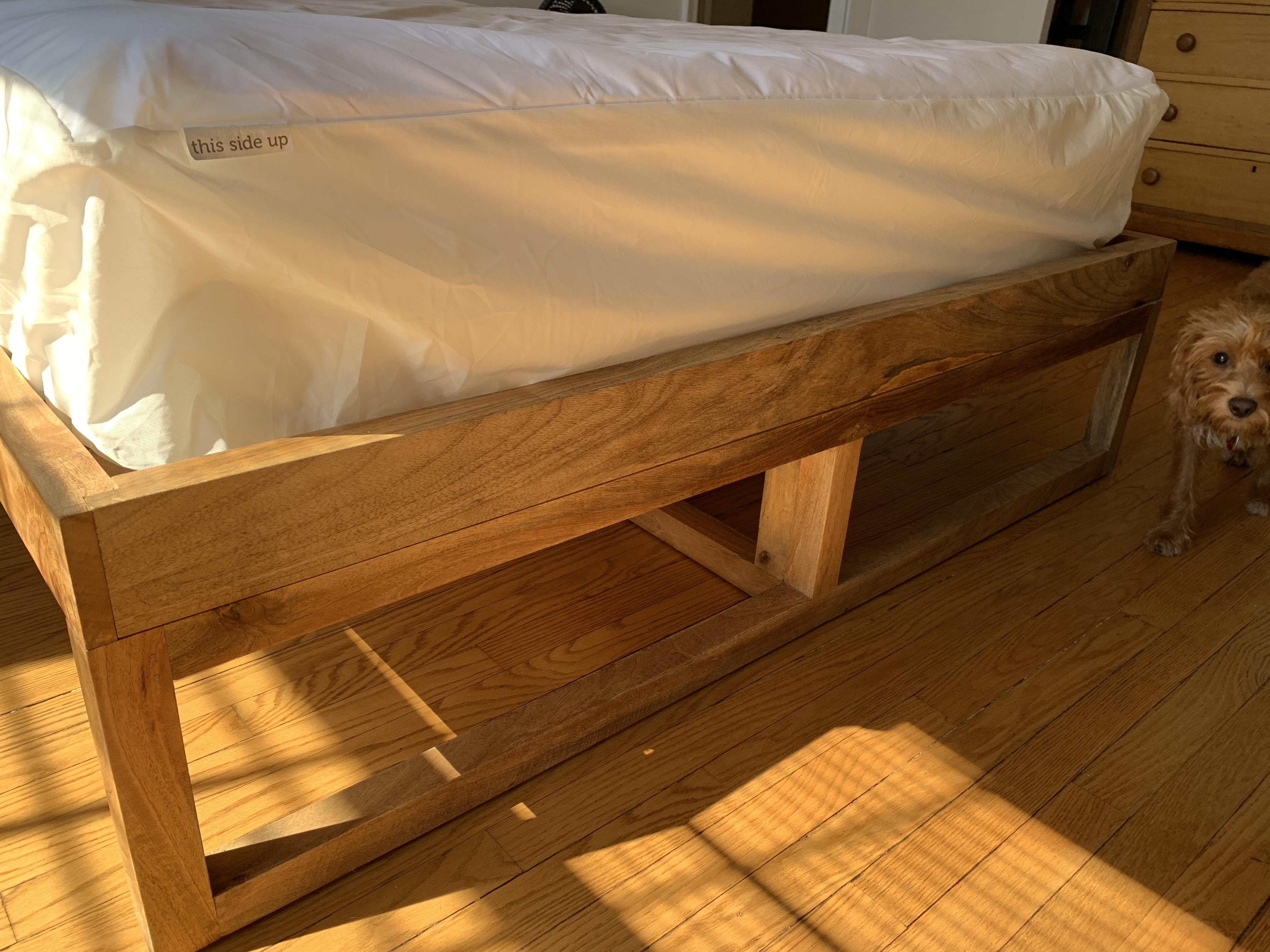 Anthropologie Bali Natural Wood Bed