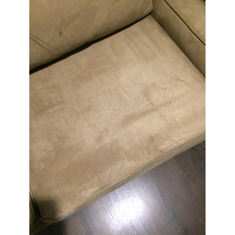Pottery Barn Comfort Square Arm Upholstered Sleeper Sofa - image-1
