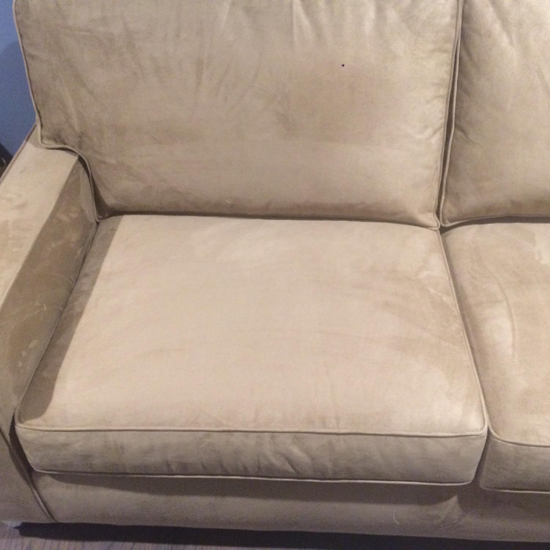 Pottery Barn Comfort Square Arm Upholstered Sleeper Sofa - image-4