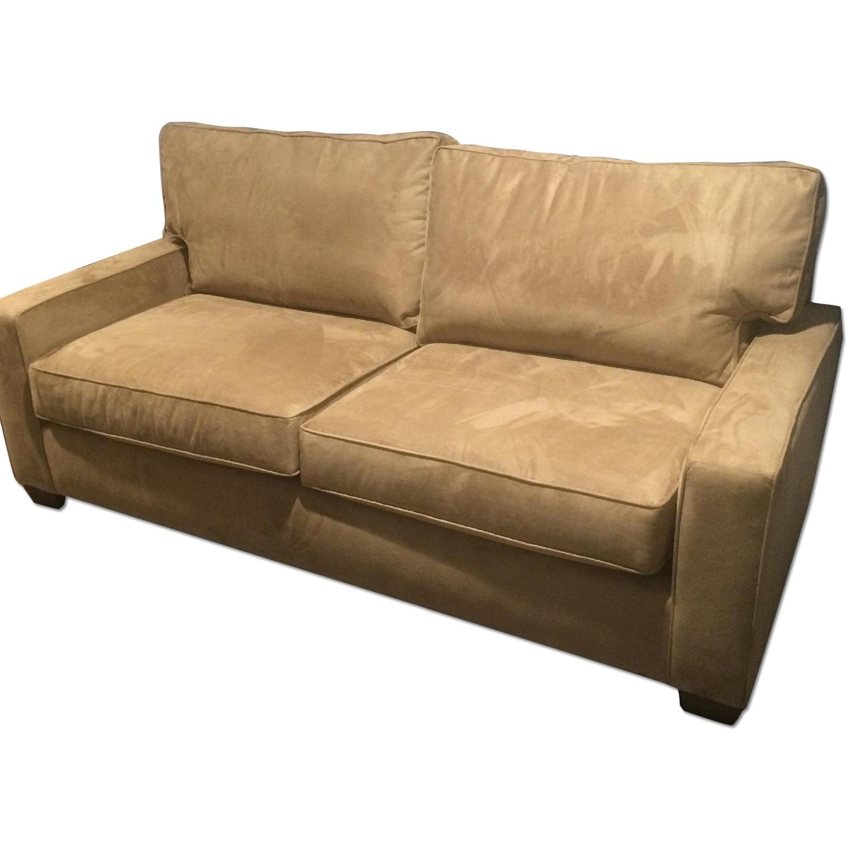 Pottery Barn Comfort Square Arm Upholstered Sleeper Sofa - image-0