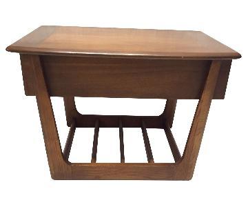 Modern Slated-Based Side Tables