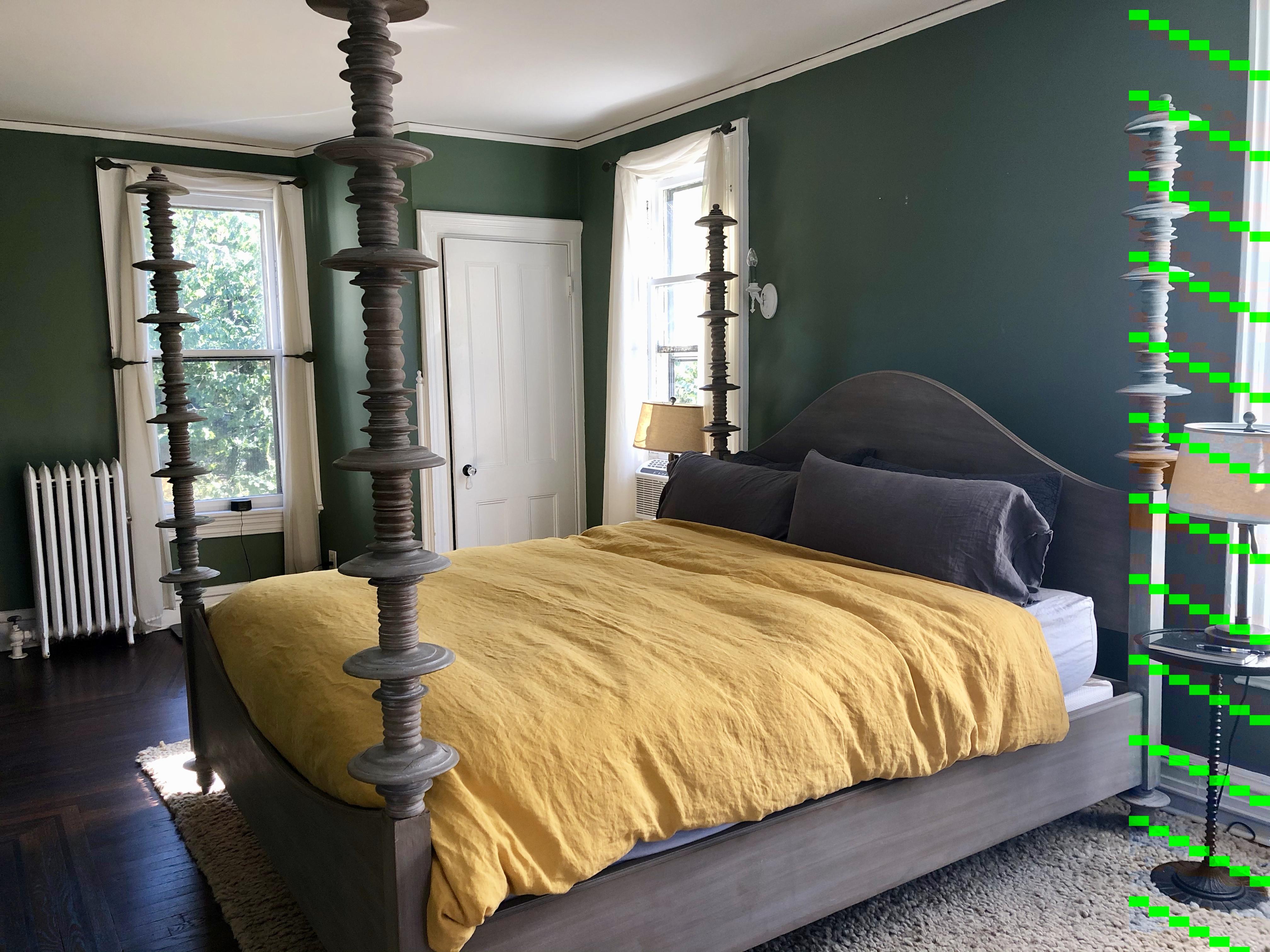 Anthropologie Climbing Spire King Bed Frame