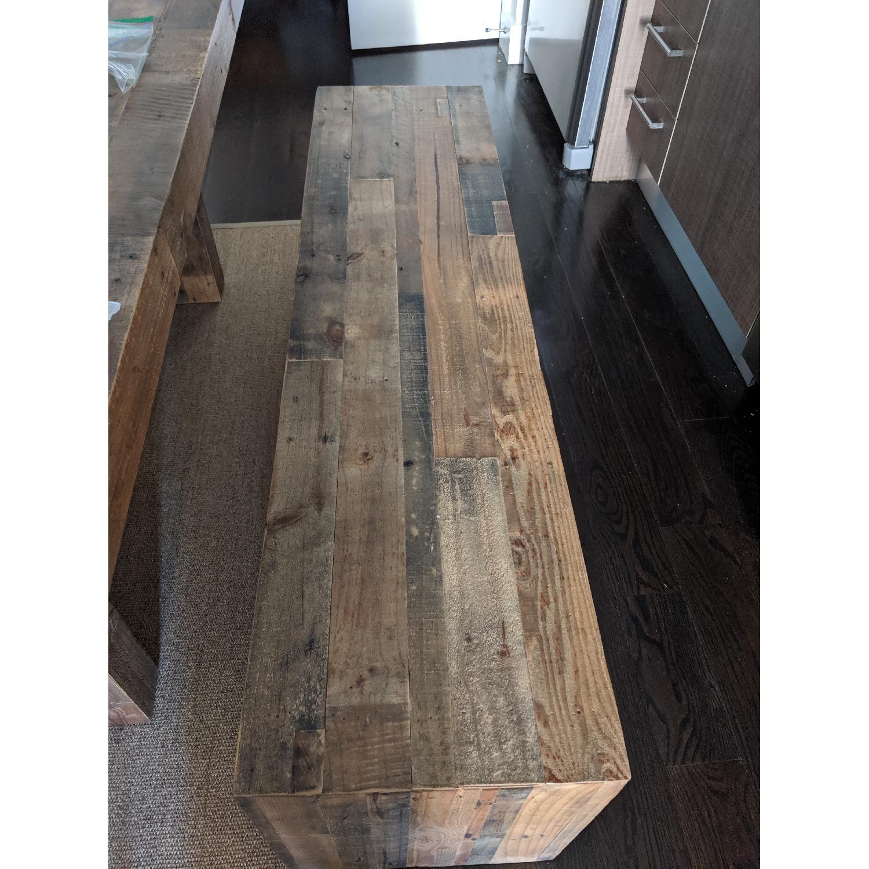 Groovy West Elm Emmerson Reclaimed Wood Bench Aptdeco Cjindustries Chair Design For Home Cjindustriesco