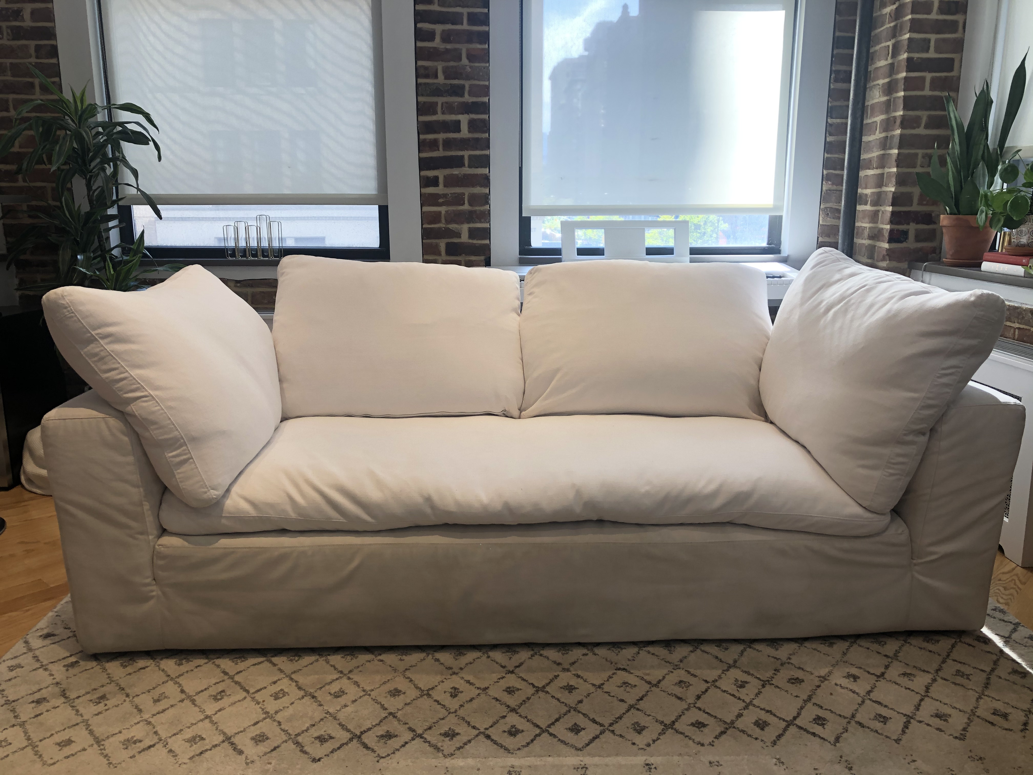 Restoration Hardware Cloud 2 Seater Sofa