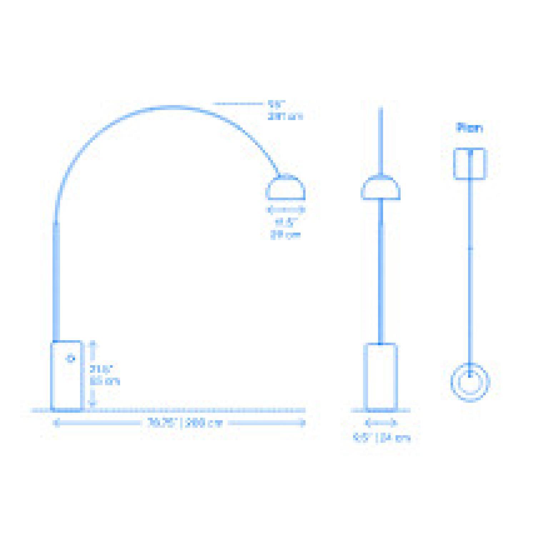 Flos Arco Floor Lamp - image-5