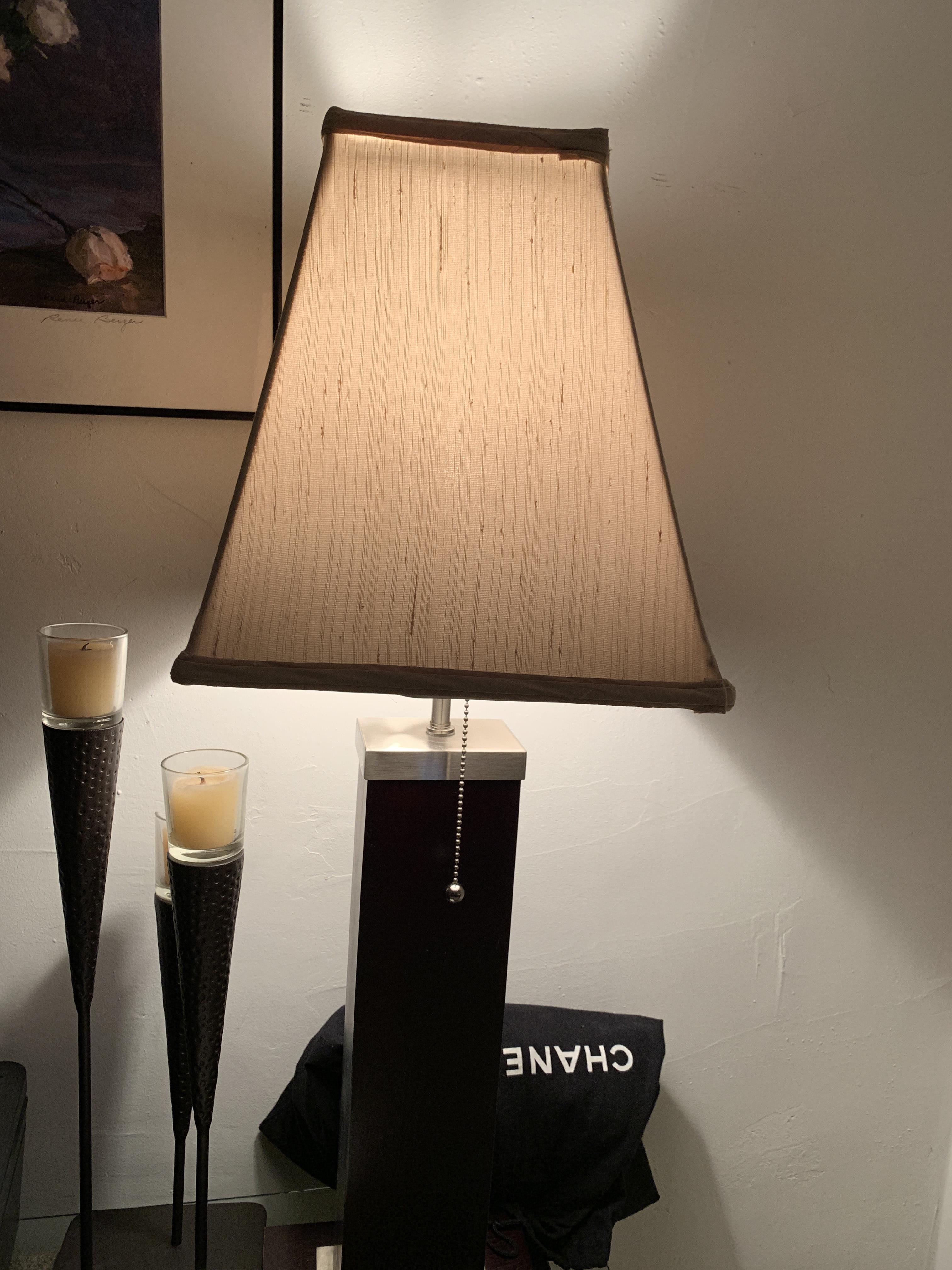 Dark Brown Table Lamp