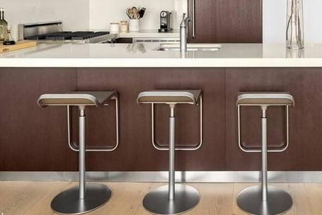 Design Within Reach Stainless Steel Lem Piston Stools