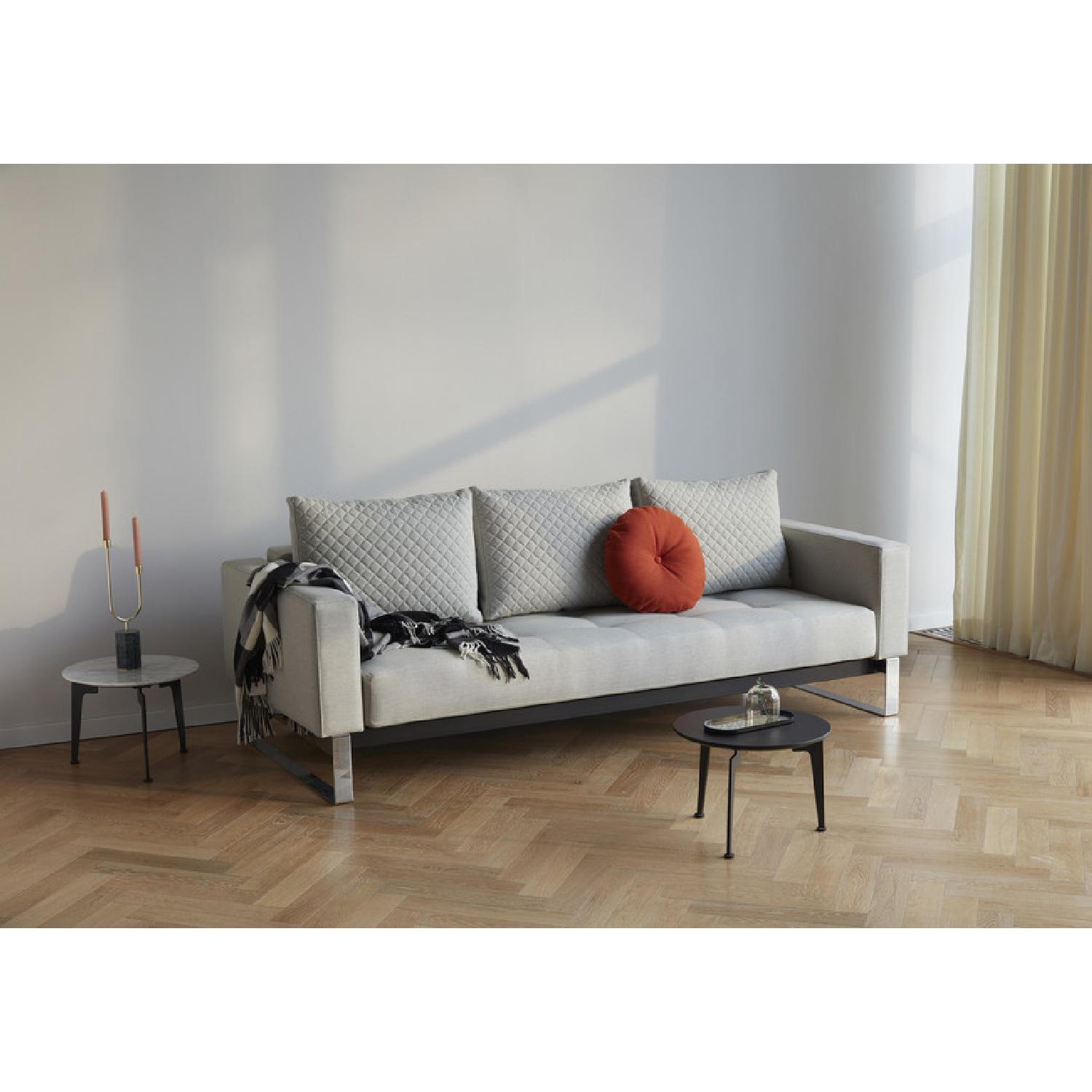 Innovation USA Cassius Quilt Deluxe Sleeper Sofa - image-2