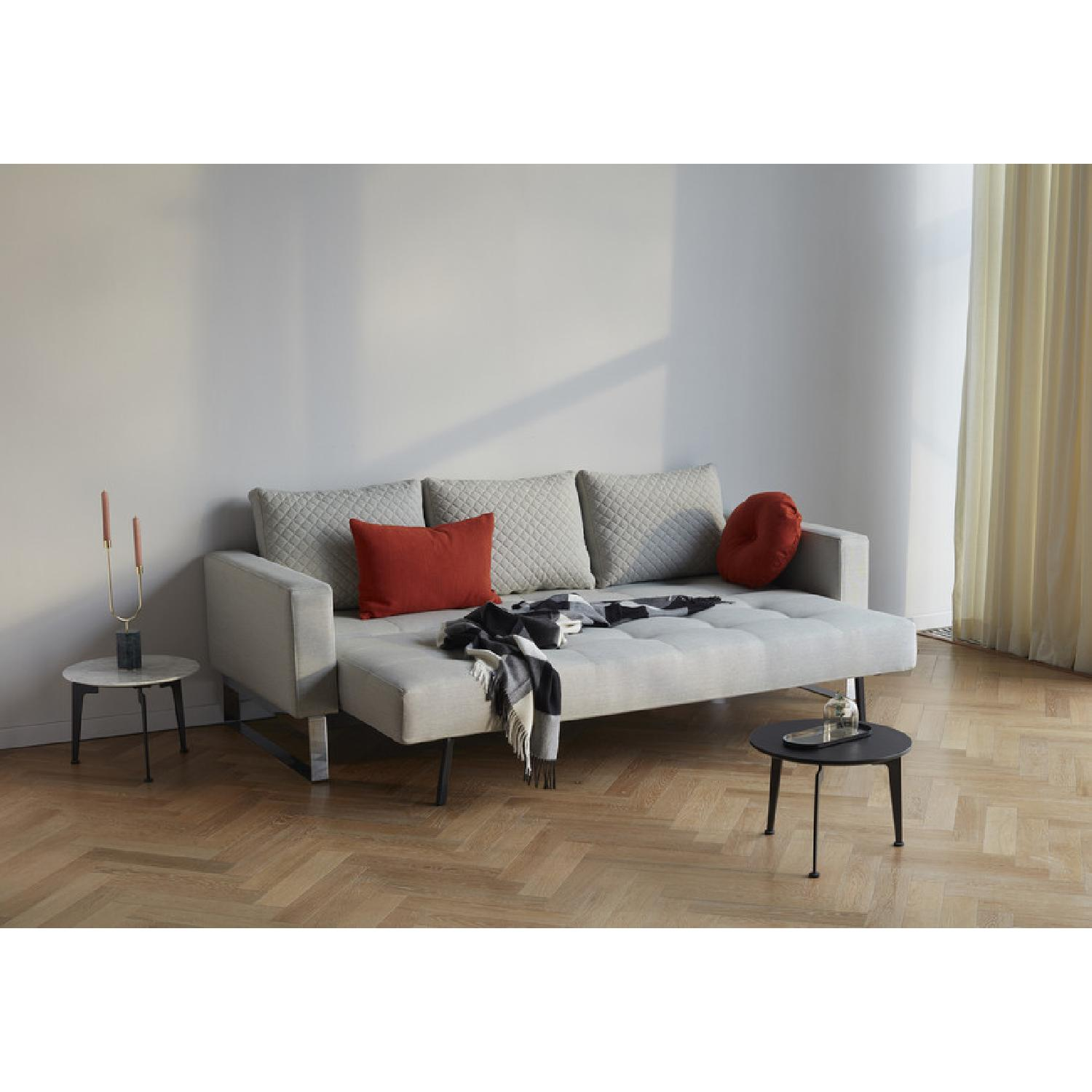 Innovation USA Cassius Quilt Deluxe Sleeper Sofa - image-3