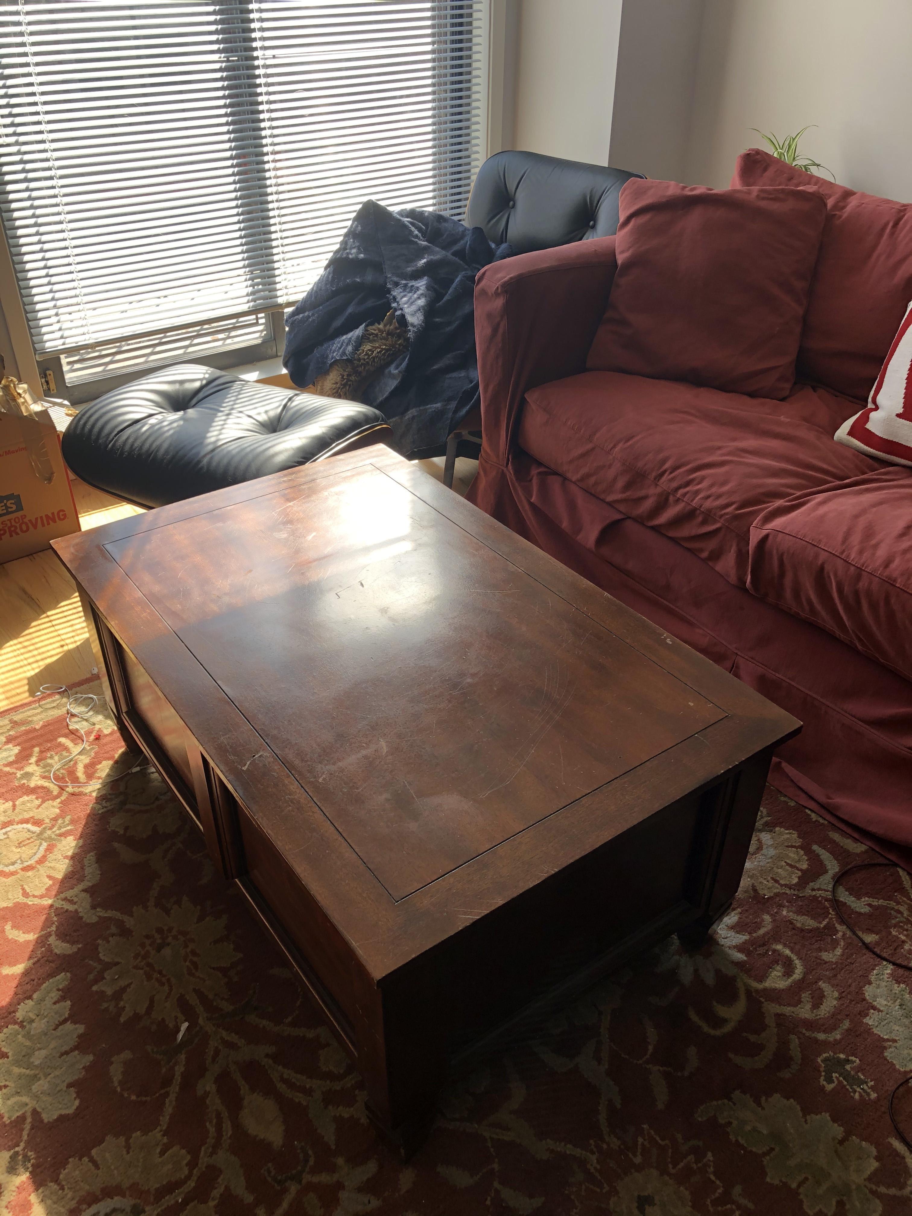 Pottery Barn Coffee Table w/ Storage
