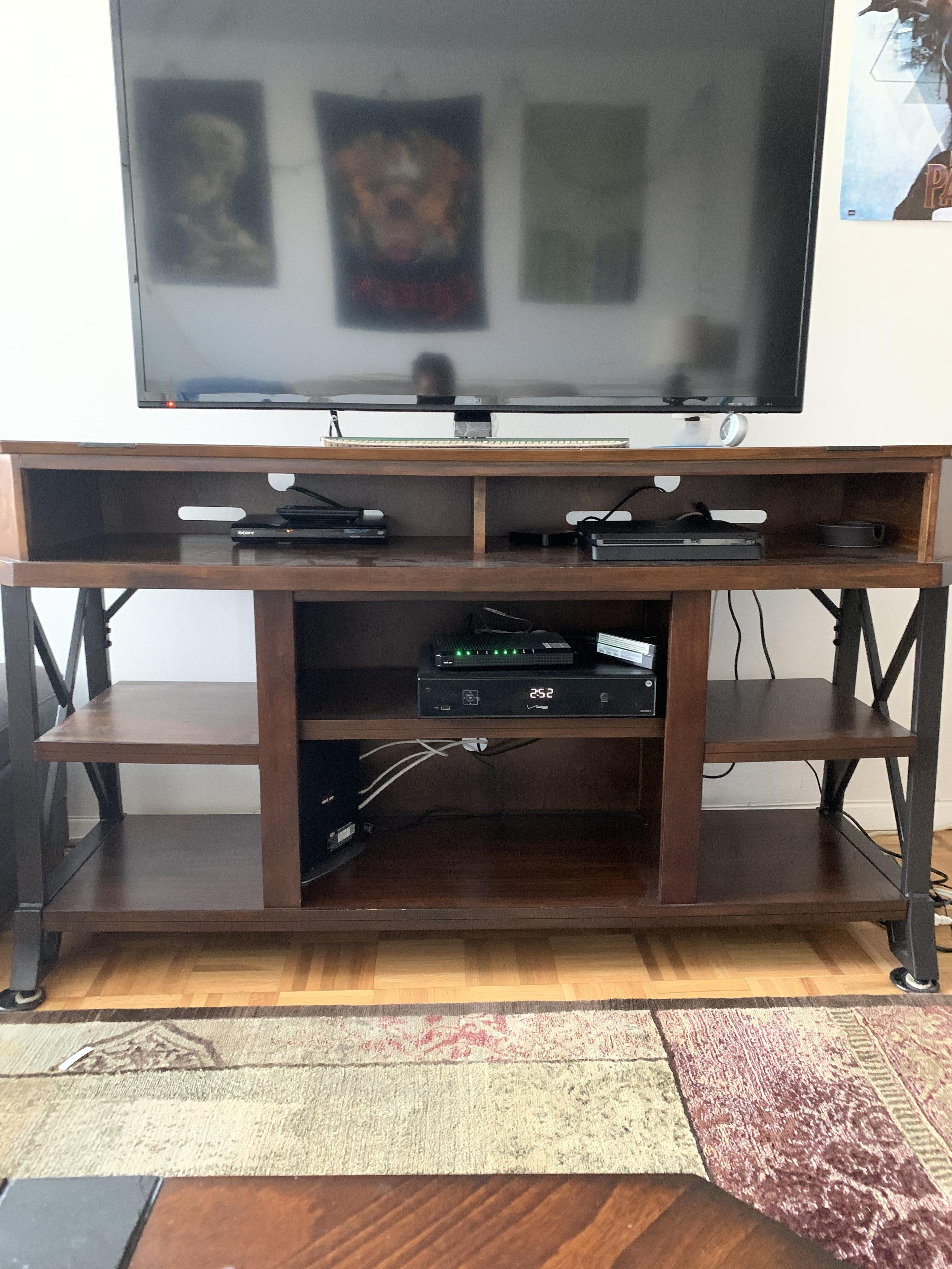 Ashley Wood & Stone Media Console