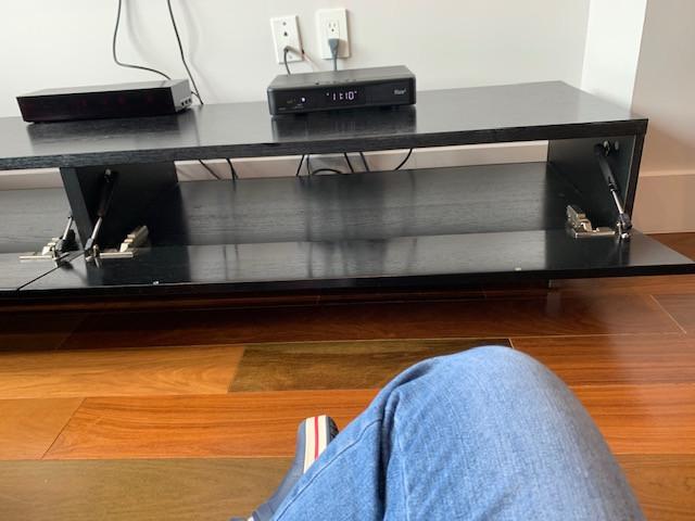 BoConcept Black Wood Media/Entertainment Storage Unit