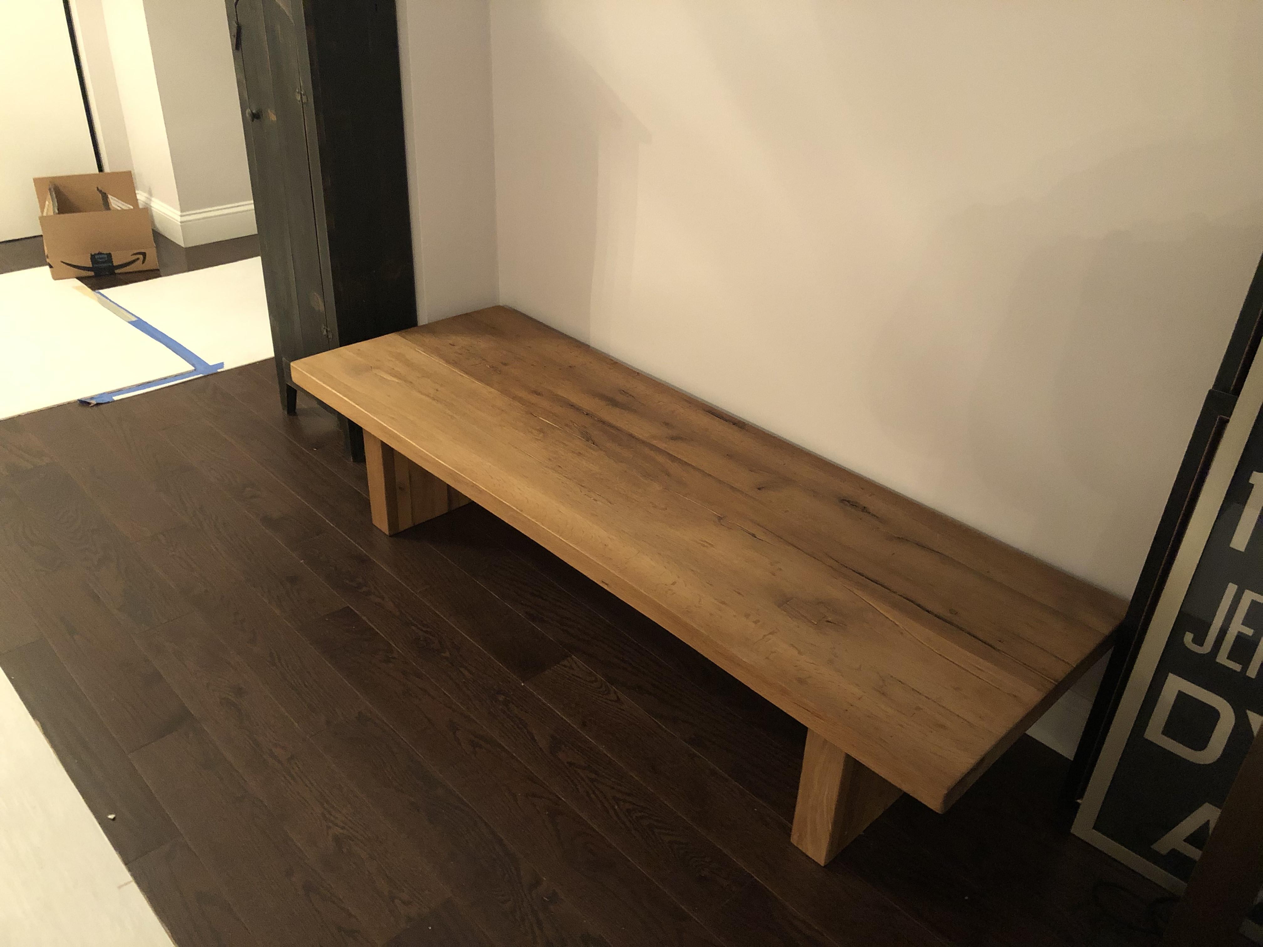 Restoration Hardware Reclaimed Russian Oak Coffee Table
