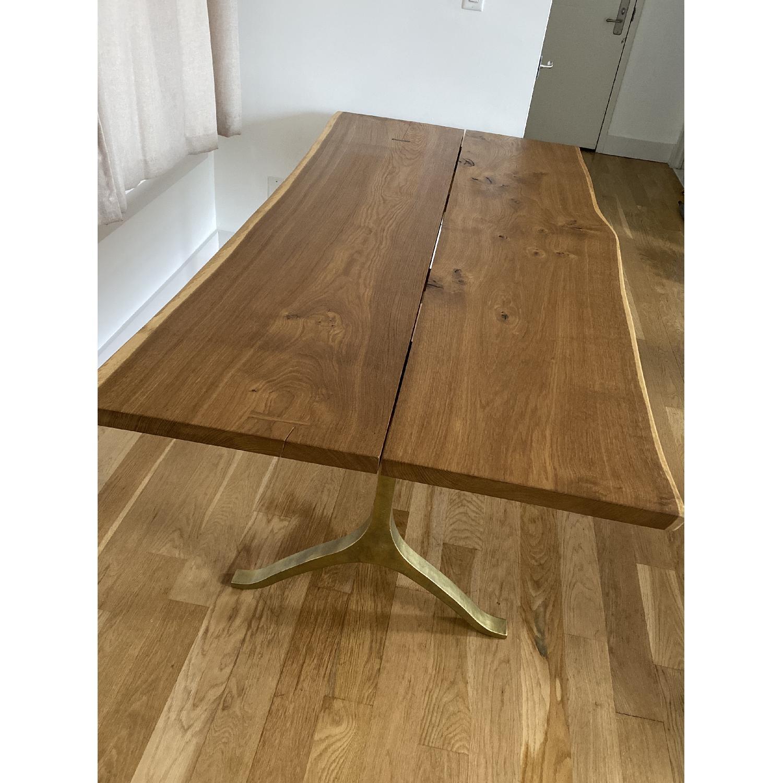 "Anthropologie 80"" Nemus Dining Table - image-1"