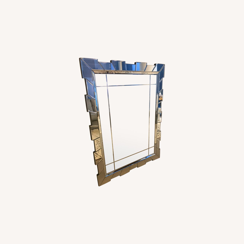 Serena & Lily Geometric Decorative Mirror