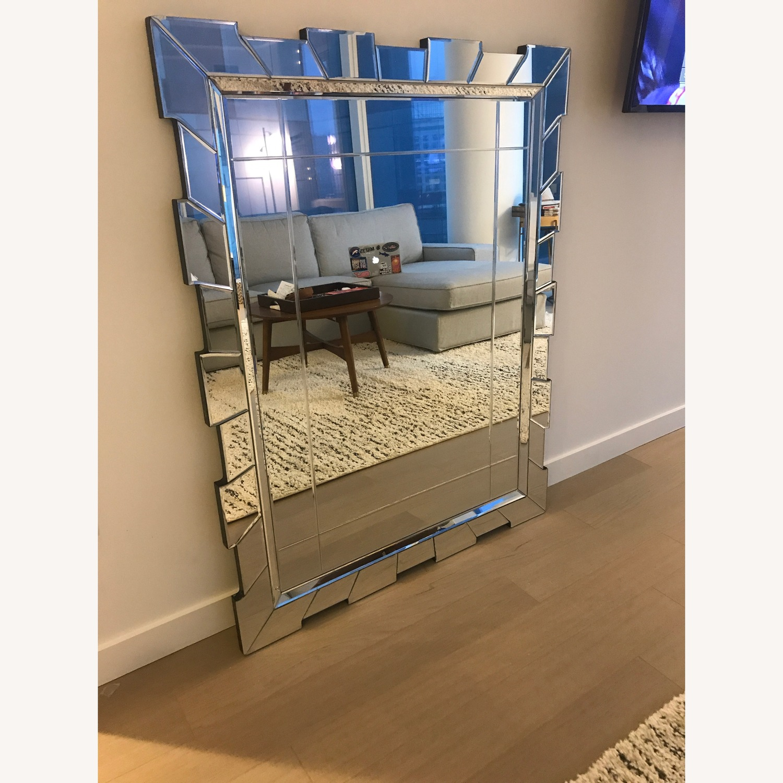 Serena & Lily Geometric Decorative Mirror - image-1