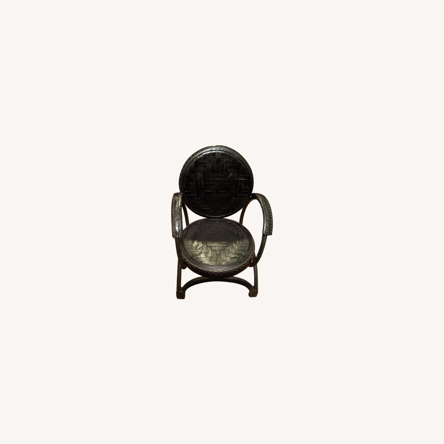 Environment Furniture Black Arm Chair