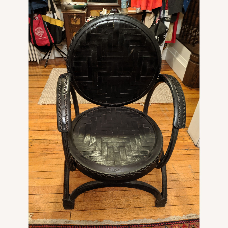 Environment Furniture Black Arm Chair - image-1