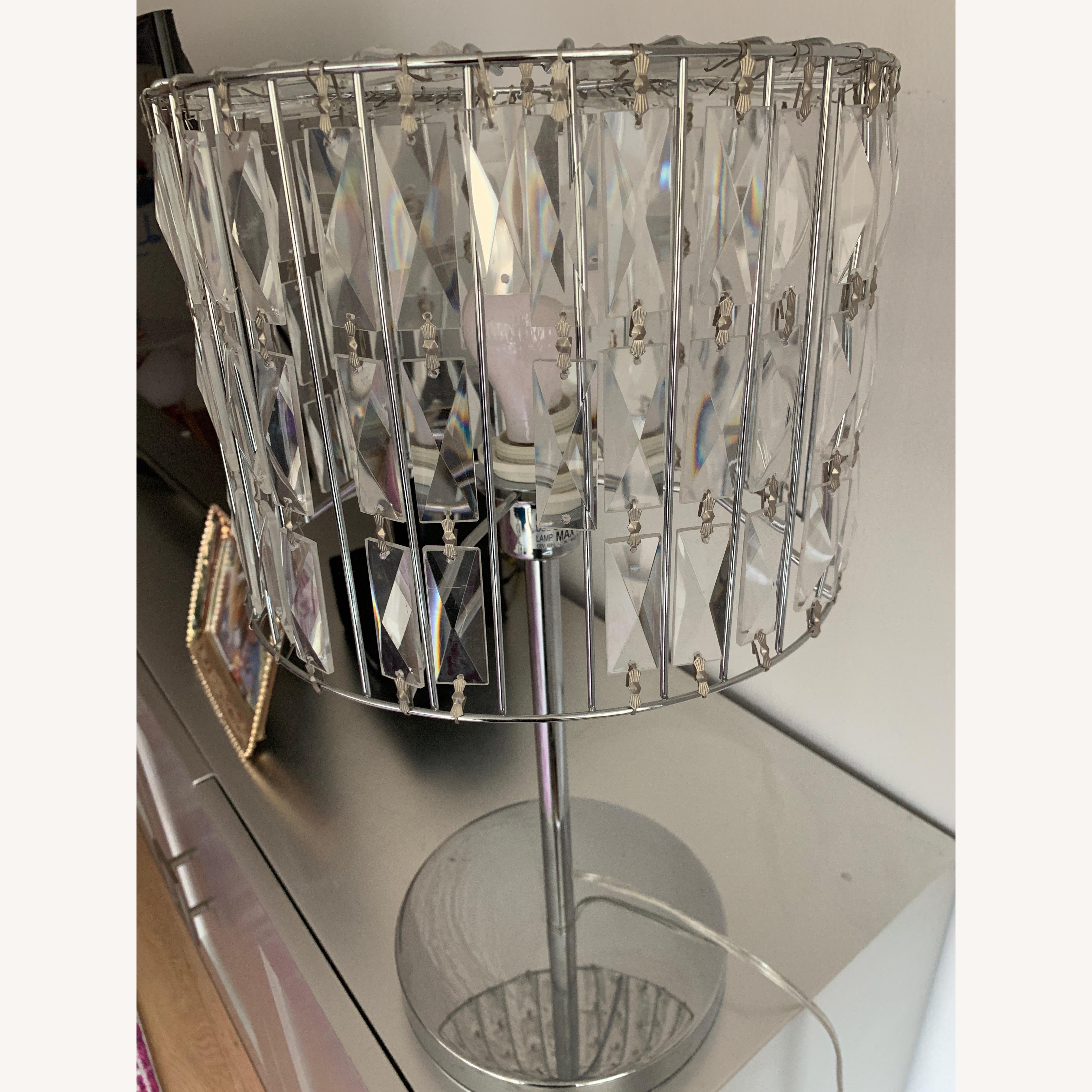 Gorgeous Glass Lamp
