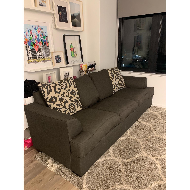 Ashley Levon Charcoal Extra Long Sofa