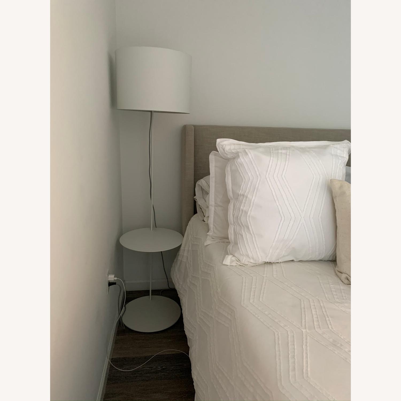 Blu Dot Note Floor Lamp w/ Table