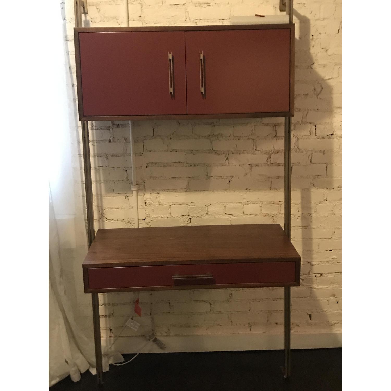 West Elm Linden Mid-Century Ladder Desk - image-1