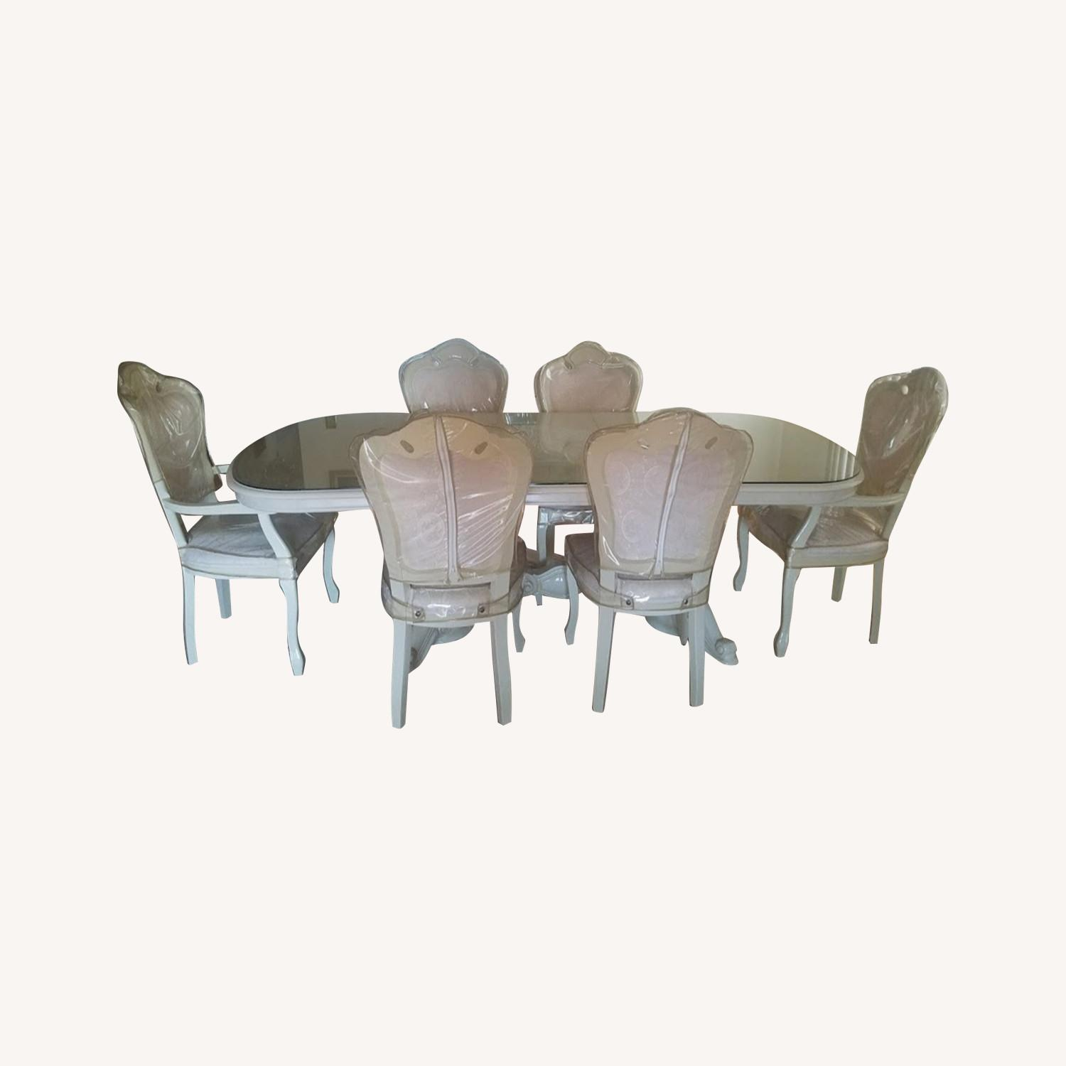 Innovation USA Beige Italian 7-Piece Dining Set