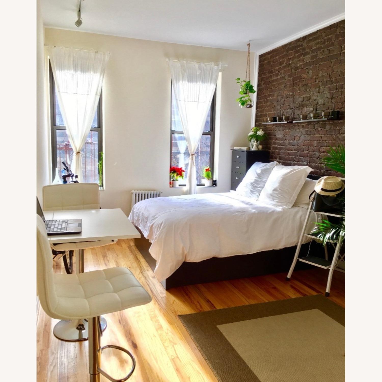 Ikea Malm Full Size Lift Up Storage Bed Aptdeco
