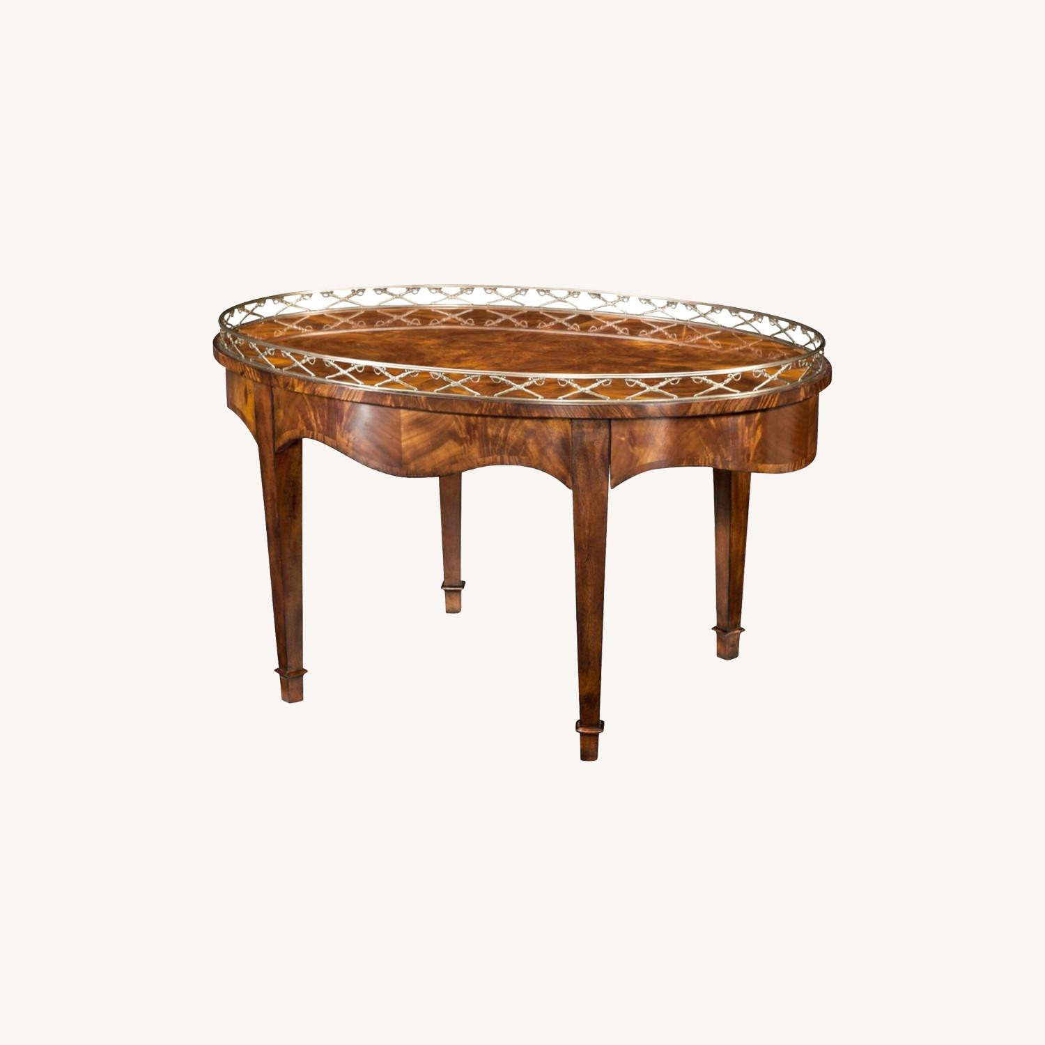 Theodore Alexander Admiral's Table Cocktail Table - image-0