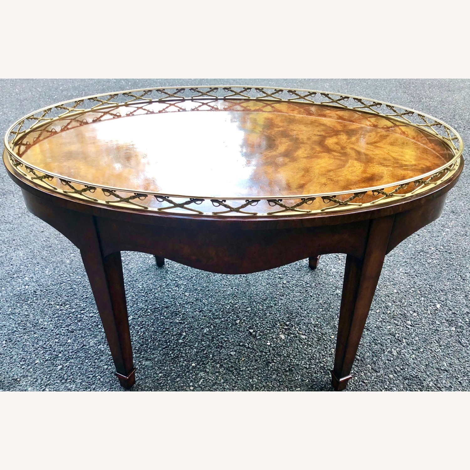 Theodore Alexander Admiral's Table Cocktail Table - image-2
