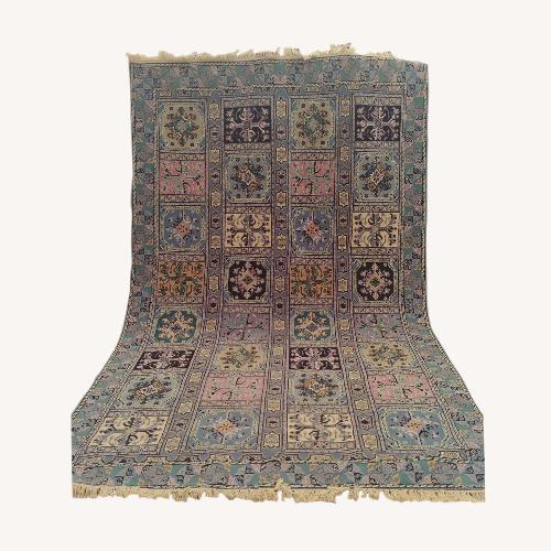 Used Kilim Rugs Handmade Moroccan Wool Berber Carpet for sale on AptDeco