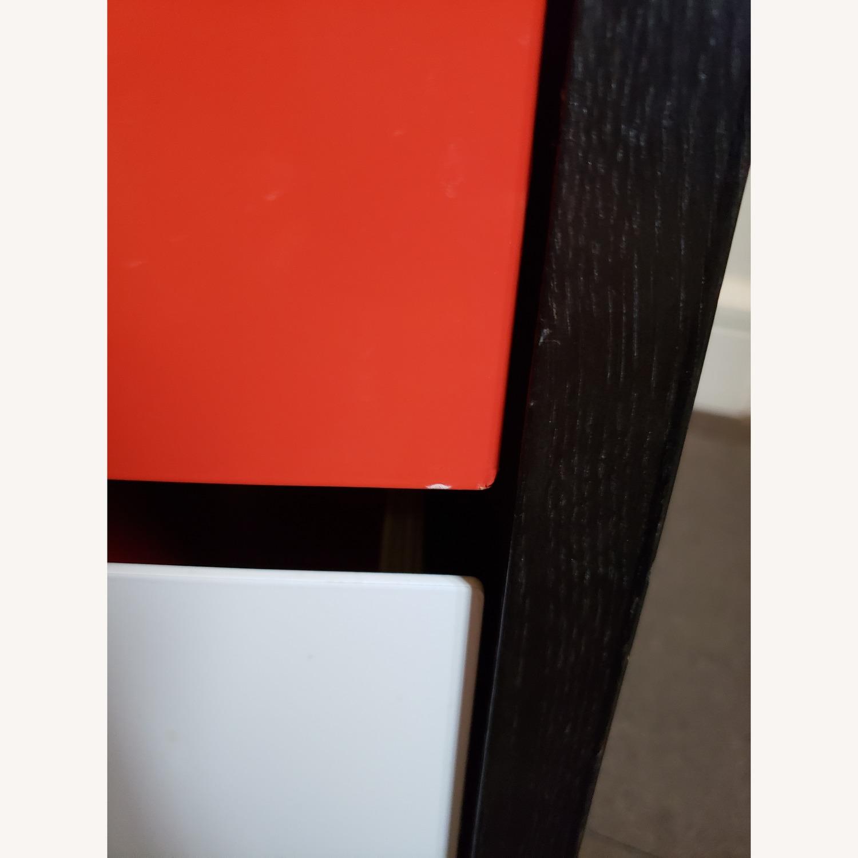 Blu Dot Modulicious Black White & Red Dresser - image-4