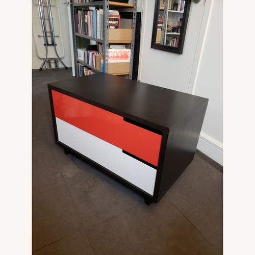 Blu Dot Modulicious Black White & Red Dresser