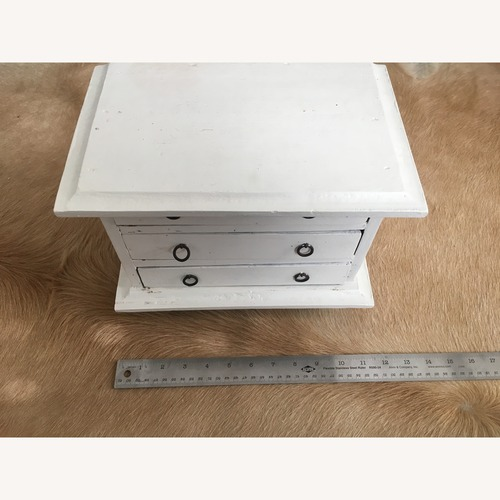 Used Vintage Tabletop Apothecary Chest for sale on AptDeco
