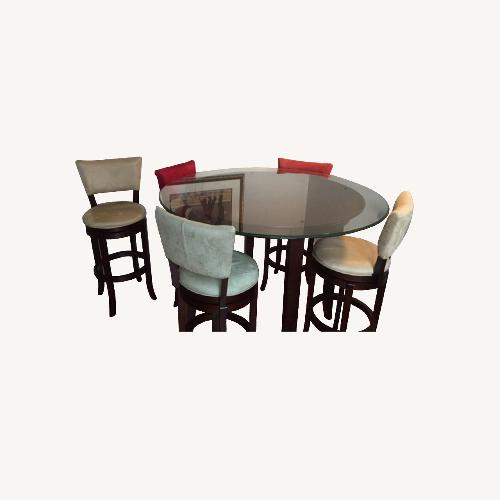Rooms to Go Keefer High Top 6-Piece Dining Set