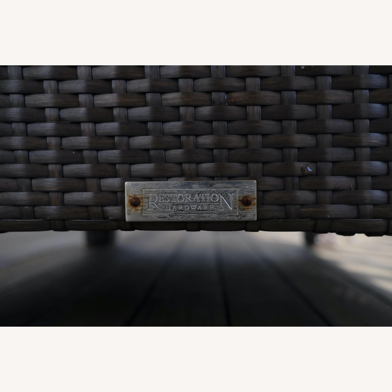 Restoration Hardware La Jolla Ottoman