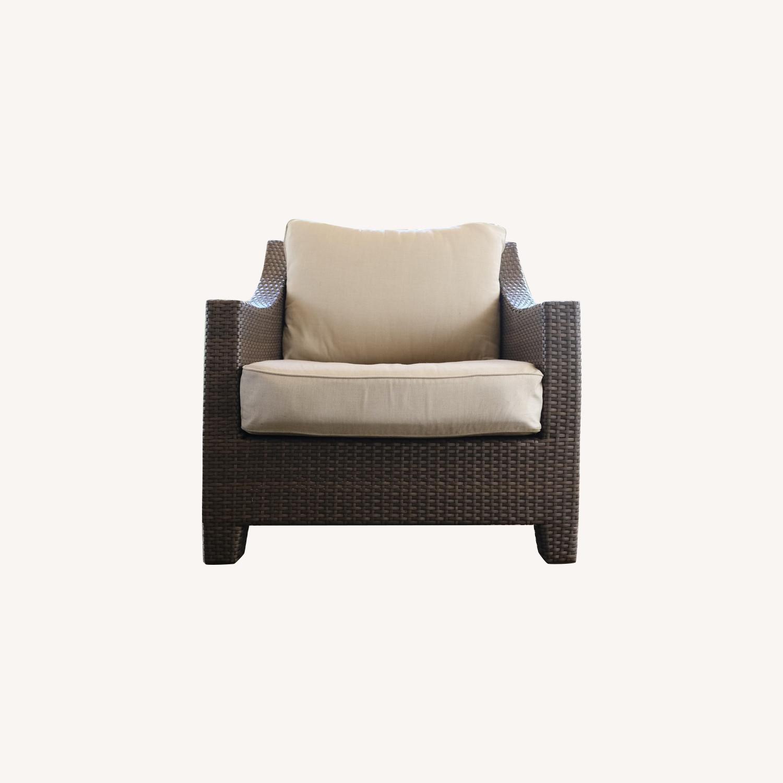 Restoration Hardware La Jolla Lounge Chairs - image-0