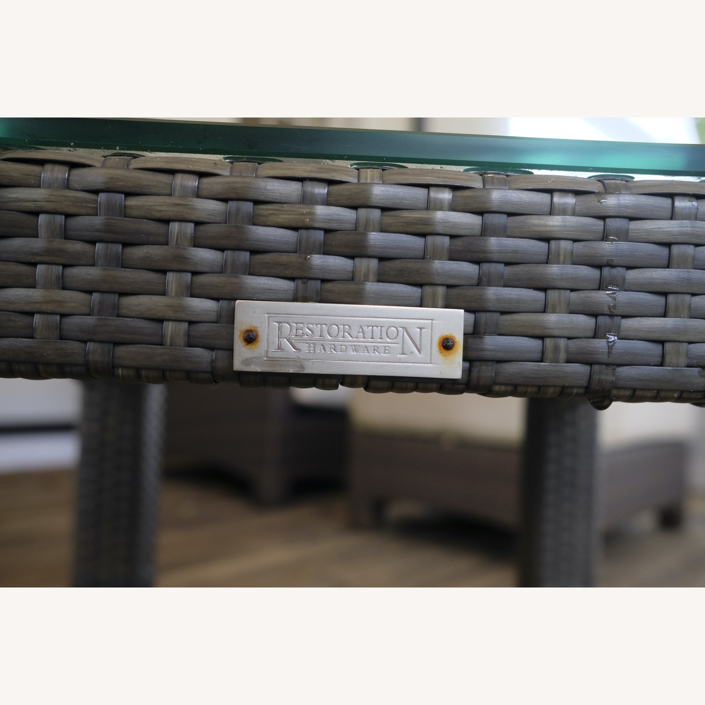 Restoration Hardware La Jolla Side Table