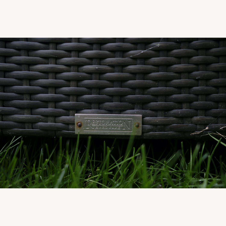 Restoration Hardware La Jolla Armless Chaise - image-3