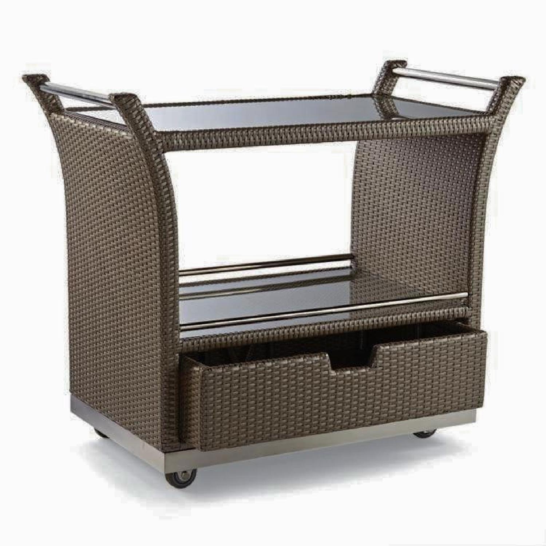 Frontgate Ultimate Serving Cart - image-0