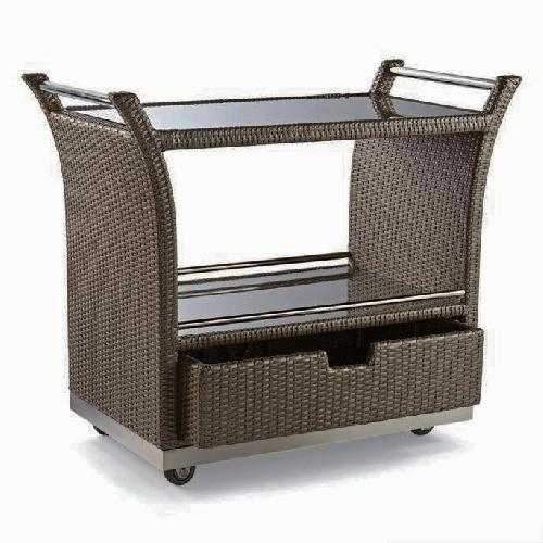 Used Frontgate Ultimate Serving Cart for sale on AptDeco